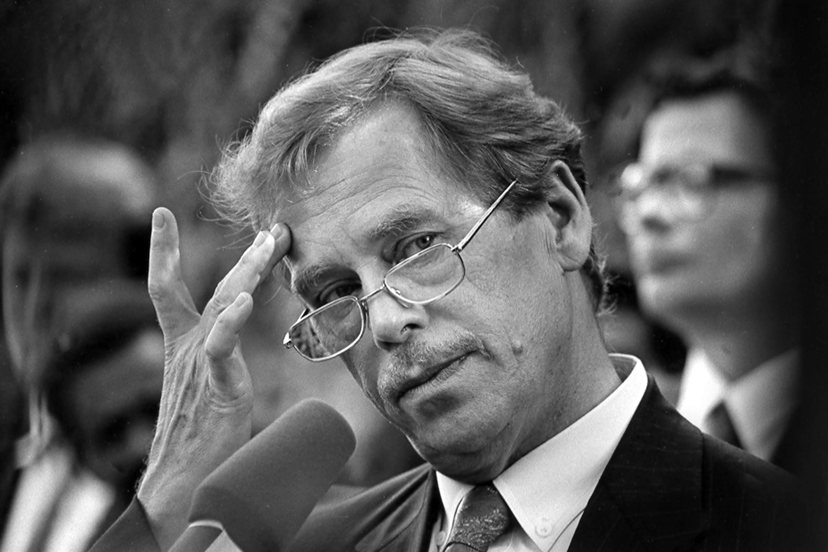 Bracing for President Trump with thoughts on hope from Vaclav Havel