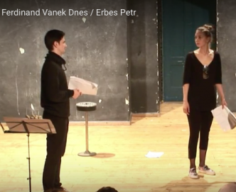 Stage reading_ Infiltration Petr Erbes
