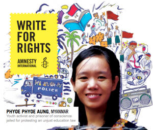 Write for Rights with Amnesty International
