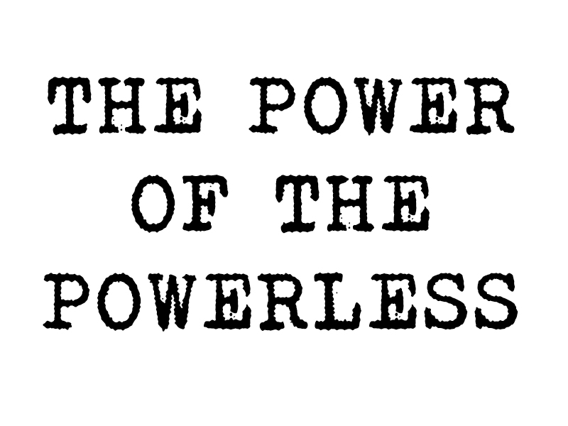 Pwer-of-the-powerless