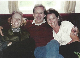 Wendy Luers with Polly Kraft and V. Havel