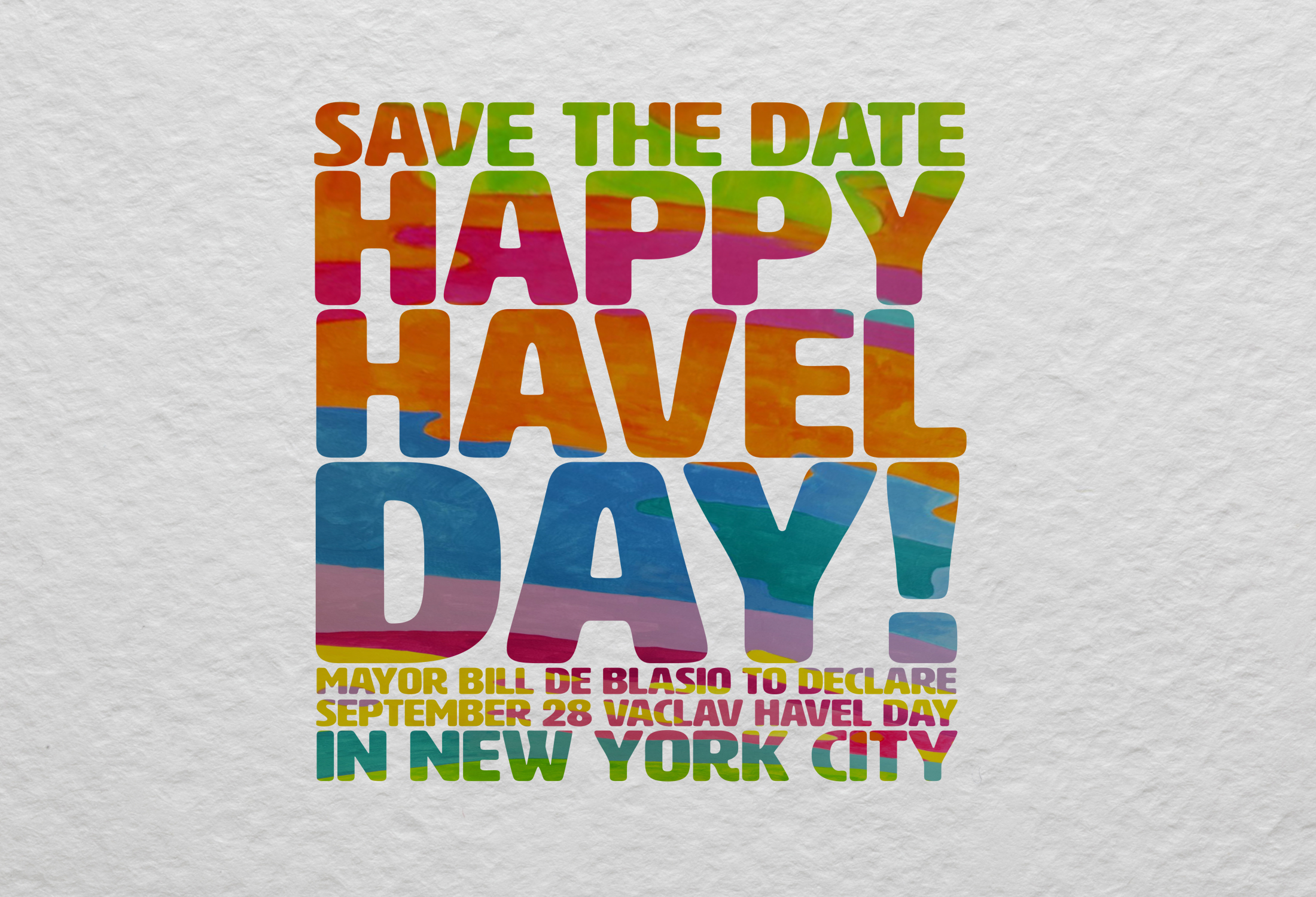 "New York to mark late president's 80th birthday with ""Václav Havel Day"""