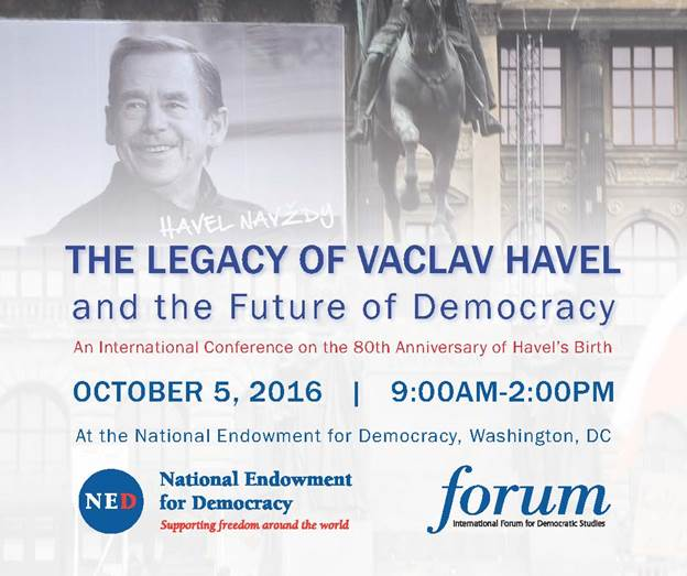 The Legacy of Vaclav Havel and the Future of Democracy
