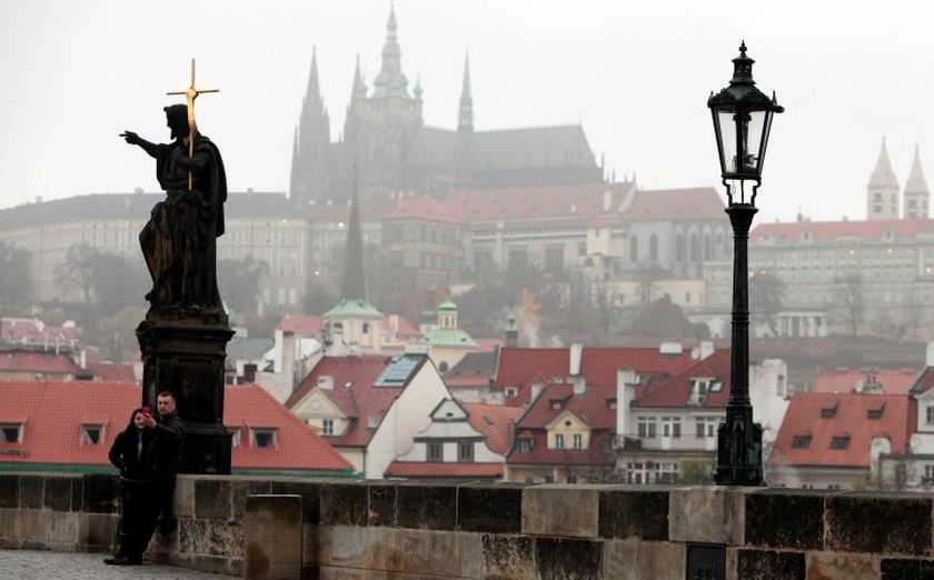 St Vitus Cathedral at the Prague Castle