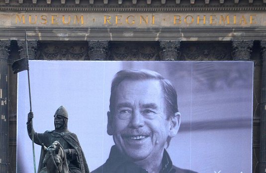 Bust of former Czech president unveiled