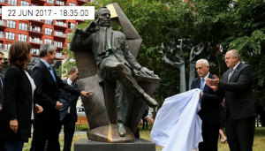 Vaclav Havel statue unveiled in Tbilisi