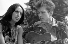with Bob Dylan