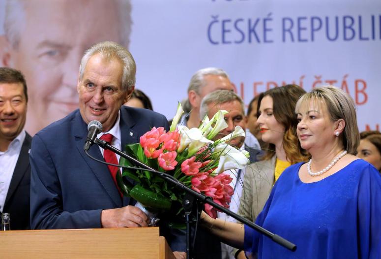 Veteran Zeman wins last big battle in Czech presidential vote