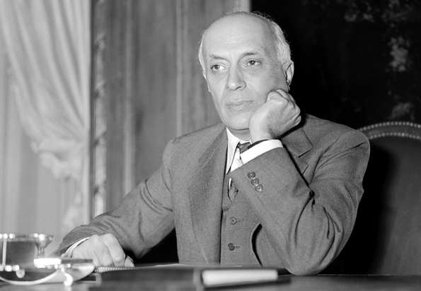 File: Picture taken from the 50s of former Indian prime minister Pandit Jawaharlal Nehru. CREDIT: STAFF/INTERCONTINENTALE/AFP