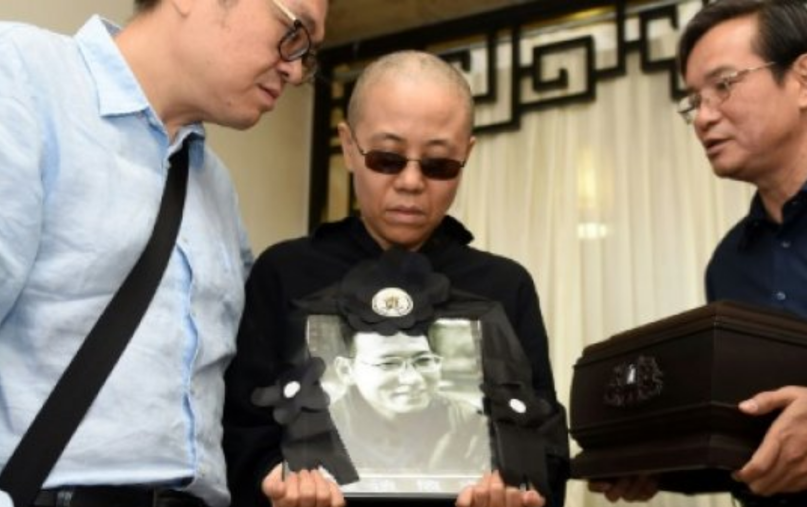 First public appearance for Chinese Nobel dissident Liu Xiaobo widow