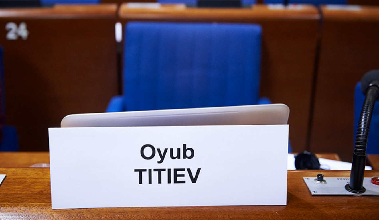 Václav Havel Human Rights Prize 2018 awarded to Oyub Titiev