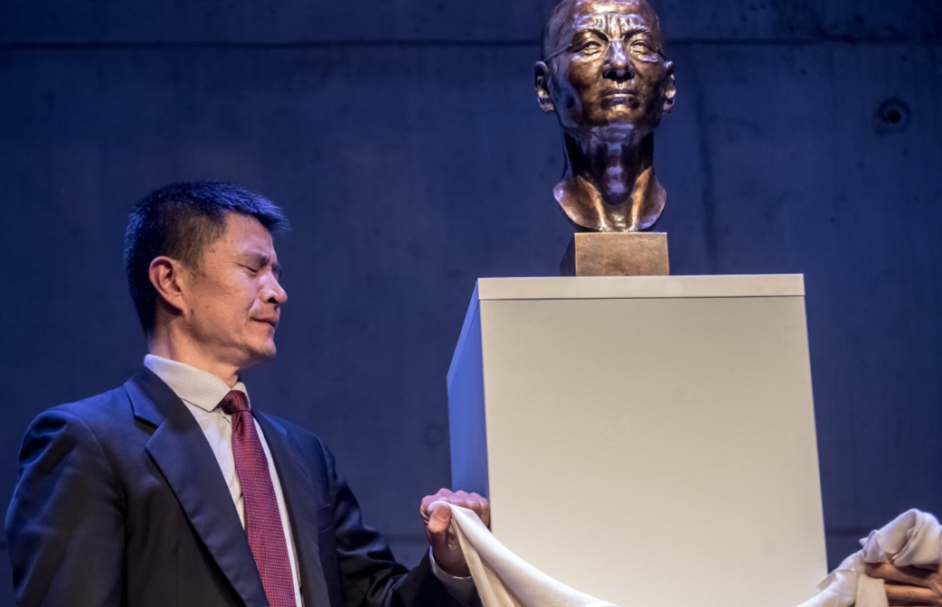 Bust of Chinese dissident Liu Xiaobo unveiled in Prague to mark 30th anniversary of the 1989 Tiananmen Square massacre