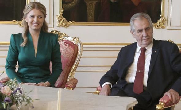 Caputova and Zeman