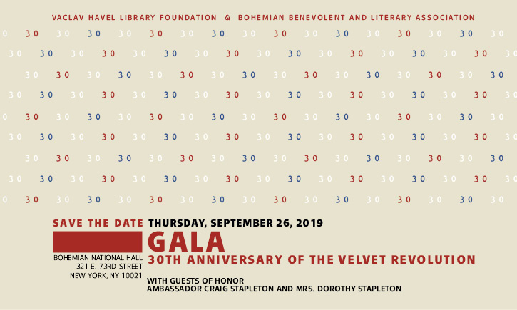 GALA 30th Anniversary of the Velvet Revolution