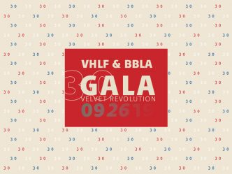 Gala Celebrating the 30th Anniversary of the Velvet Revolution