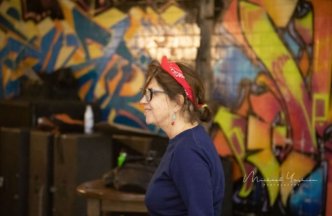 Susan Galbraith directing The Havel Project at Dupont Underground (Photo: Michael Yeshion)