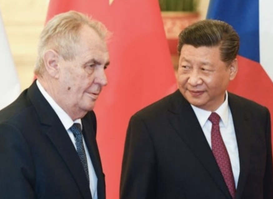 CZECH CHINESSE PRESIDENT