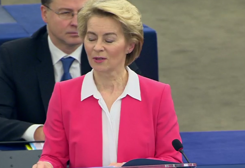 Speech by President-elect von der Leyen in the European Parliament Plenary on the occasion of the presentation of her College of Commissioners and their programme