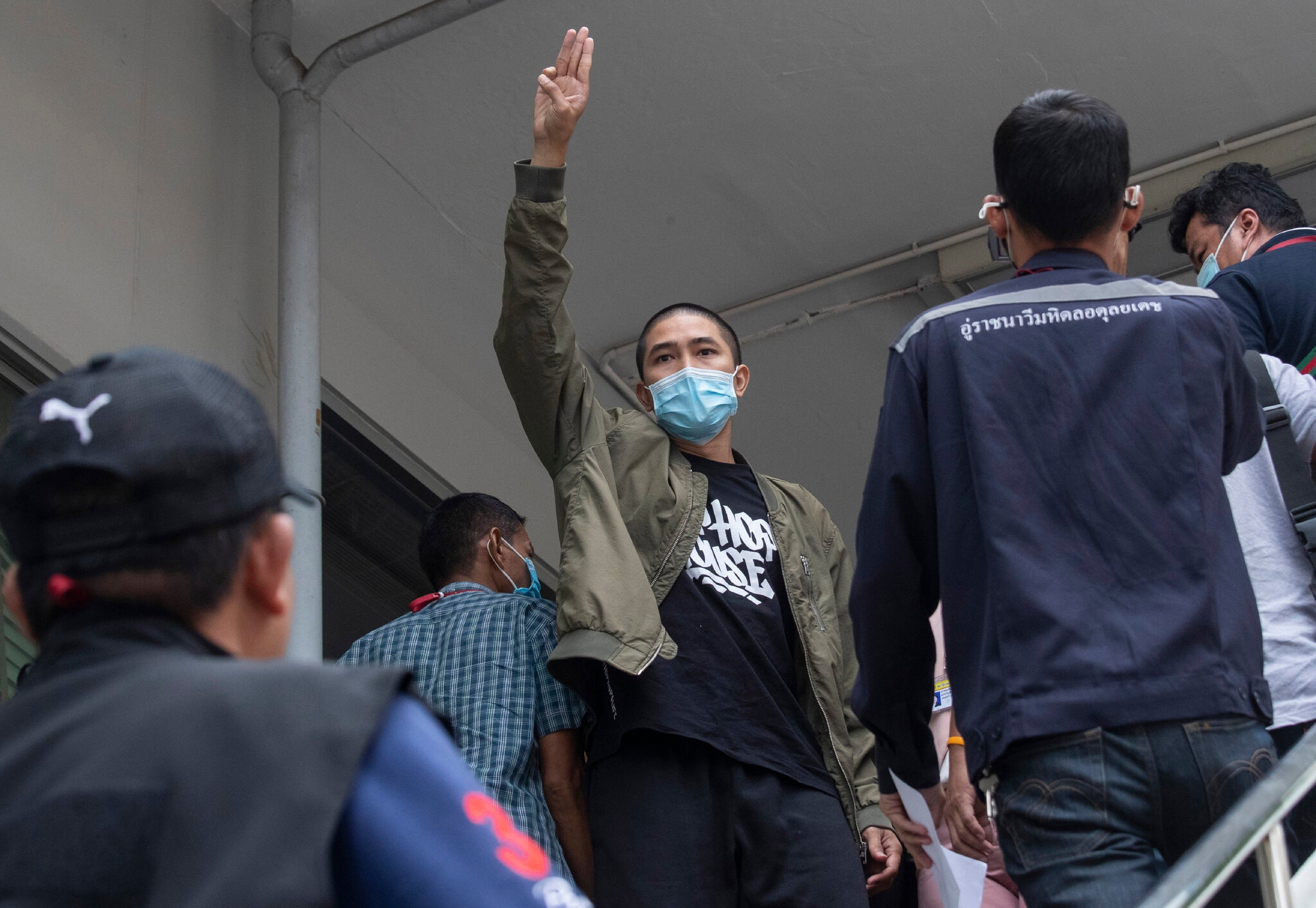 Thailand Police Arrest Activists, Escalating Protest Crackdown