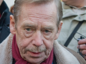 Václav Havel, photo Jaroslav Mrkvička
