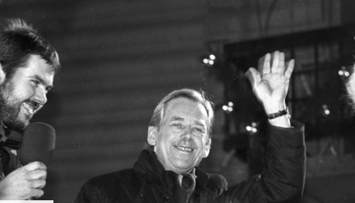 31 years since Václav Havel was first elected Czechoslovak president