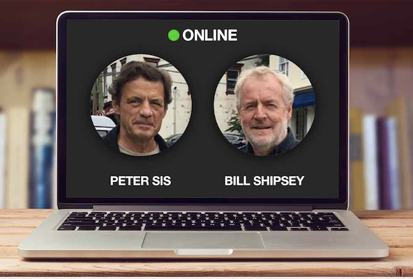 HAVEL CONVERSATIONS ON ZOOM: Peter Sis in Discussion with Bill Shipsey