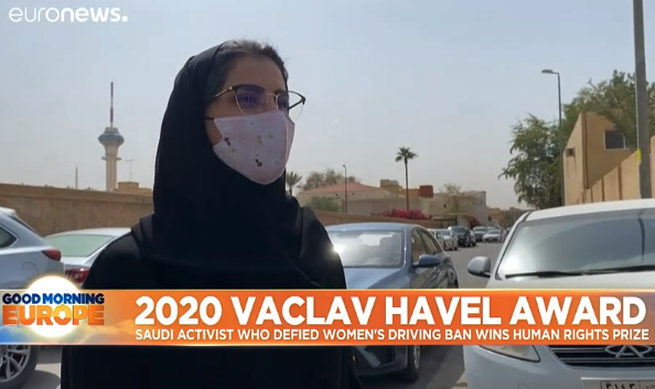 Saudi women's rights activist Loujain al-Hathloul awarded 2020 Vaclav Havel prize